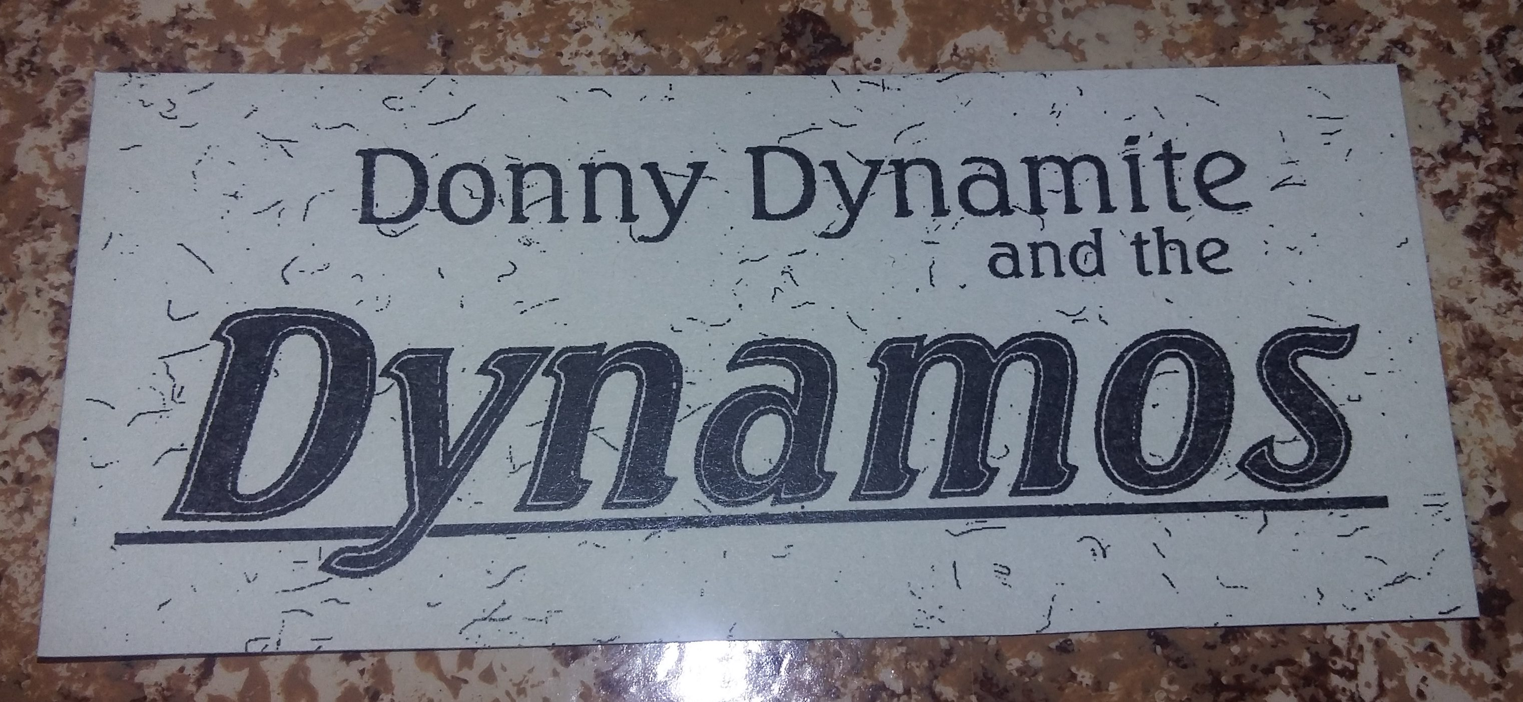Donny Dynamite & the Dynamos – In Concert